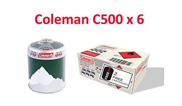 Coleman Multi C500 Gaskartusche 6-Pack
