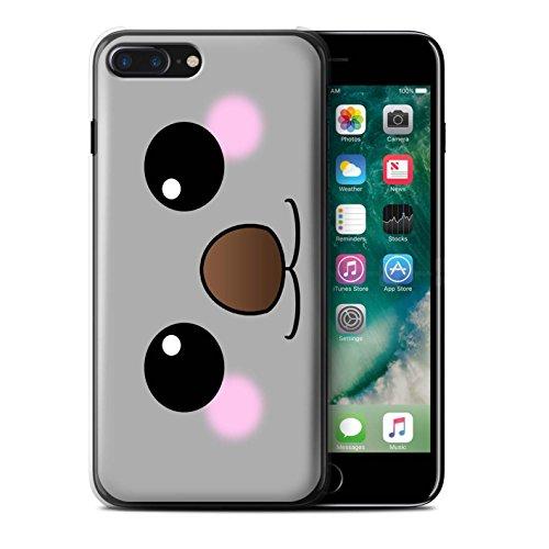 Stuff4 Hülle / Case für Apple iPhone 7 Plus / Löwe Muster / Nette Kawaii Kollektion Koala