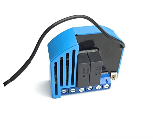 Qubino ZMNHOD1 Flush Shutter DC Unterputz-Mikromodul EU Z-Wave Plus, Schwarz, Blau Shutter-modul