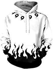 Anime Hoodies For Unisex Naruto Four Generations Of Naruto 3D Color Printing Digital Printing Design Hooded Sw