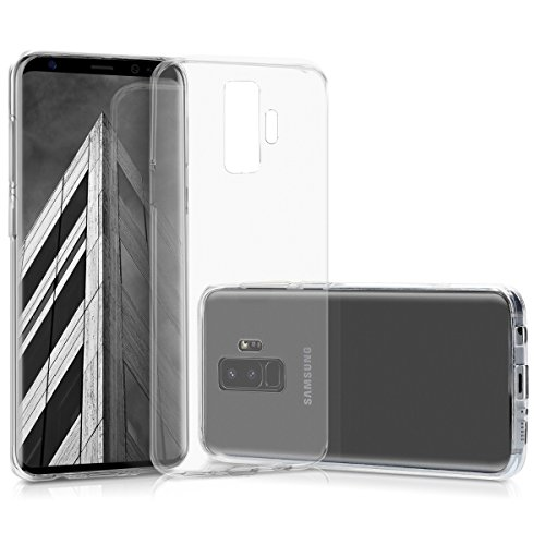 kwmobile Samsung Galaxy S9 Plus Hülle - Handyhülle für Samsung Galaxy S9 Plus - Handy Case in Transparent -