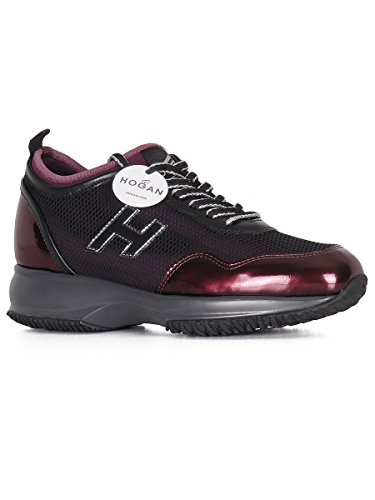 Sneakers Interactive Hogan Bordeaux