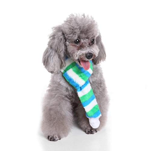 Ninasill ღ ღ Cool und Niedlich Weihnachten Schal Haustier Katze Hund Weihnachtsschmuck Casual Large Grün (Billig Und Niedlich Kostüm)