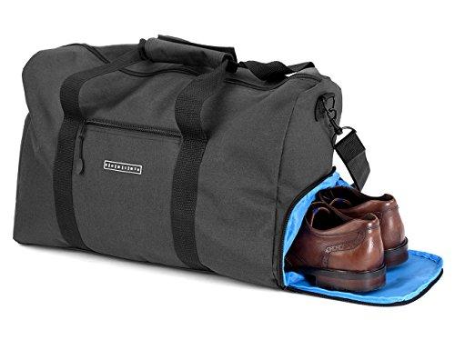 ronins-canvas-weekender-reisetasche-sporttasche-mit-schuhfach-38-liter-gross-handgepack-tasche-reise