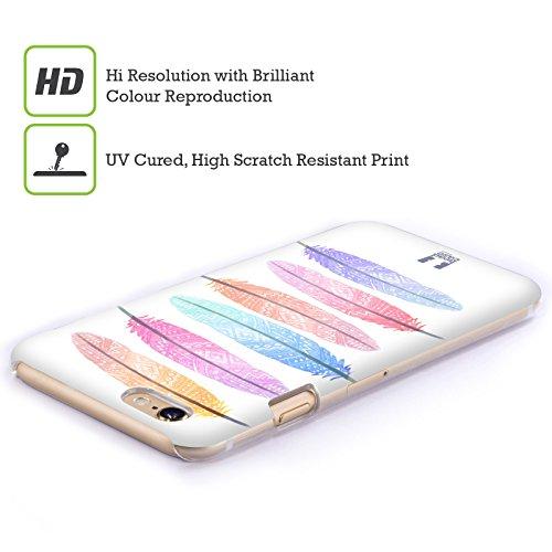 Head Case Designs Tenero Gatti A Pois Cover Morbida In Gel Per Apple iPhone 7 Plus / 8 Plus Silhouette Colorata