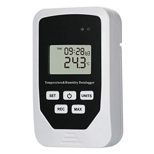 Starnearby Digitales Thermometer Hygrometer, ZL-505 USB Feuchte Temperatur Datenlogger RH TEMP Recorder Thermometer