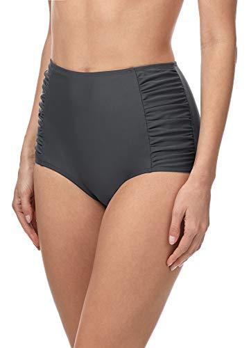 Merry Style Damen Bikinislip MS10-119 Bikinihose Bauch Weg Effekt (Graphite (9154), 42)