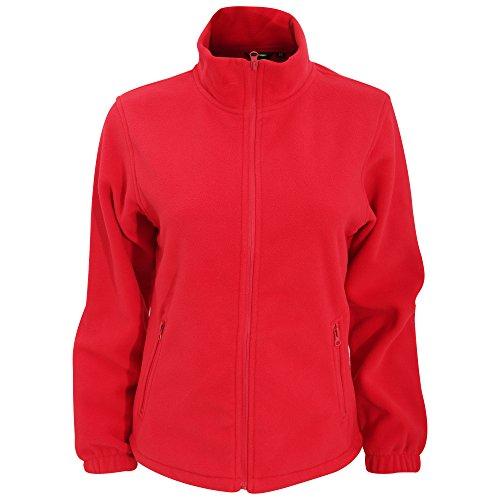 2786 - Veste en polaire - Femme Rouge