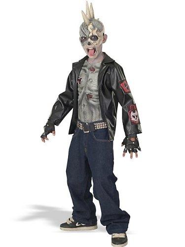 Punk Zombie Costume Child (Kid Zombie Kostüme)