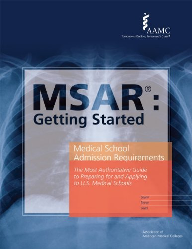 Medical School Admission Requirements Book