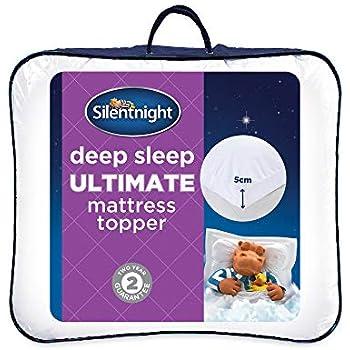 Silentnight Ultimate Deep Sleep Topper White Double