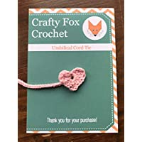 Heart Umbilical Cord Tie (Choice of Colours)