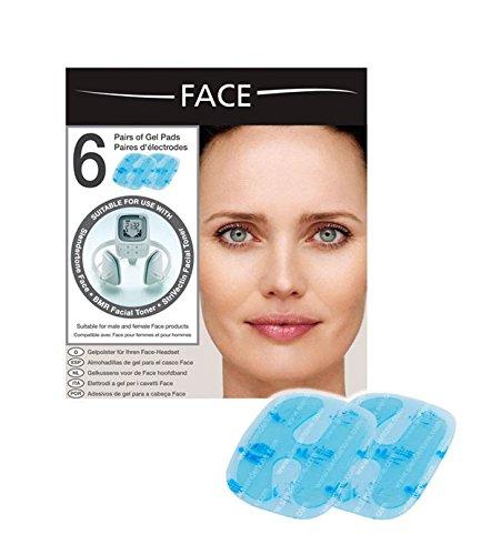 Slendertone Face - Electrodos de Recambio para Mujer