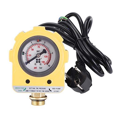 Manomètre Régulateur de Pression de Pompe Automatique 10 bars Pression Pompe Régulateur Intelligent Pour Bompe à Eau (Prise de l'EU)