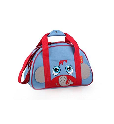 okiedog LIL' PET PALS 80192 bolsa de viaje y de deporte ELEFANTE, azul