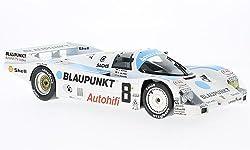 Porsche 962 C, No.8, Blaupunkt, 24h Le Mans, 1988, Modellauto, Fertigmodell, Norev 1:18