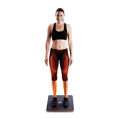 66fit-Pedana-per-esercizi-di-equilibrio-con-superficie-in-PVC-Blu-Blau-blau-50-cm