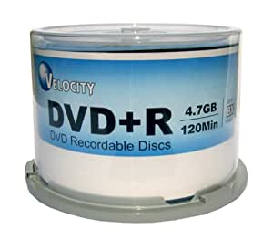 Velocity DVD + R 8 x 4.7 Go (50-Spindle)