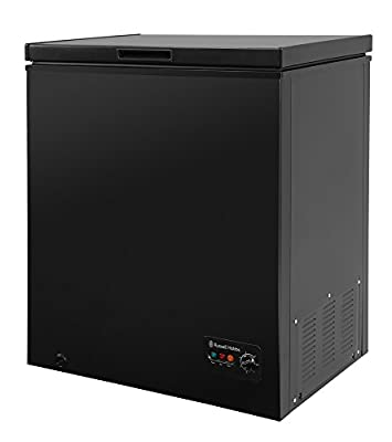 Russell Hobbs RHCF142B Black 142 Litre Chest Freezer by Russell Hobbs, Energy Rating A+ - Free 5 Year Guarantee*