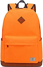 El-fmly Classic Water Resistant Backpack for School Lightweight Travel Daypack