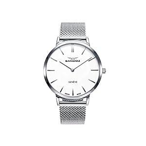 Sandoz – Reloj Acero Brazalete Sra Classic & Slim Sa –