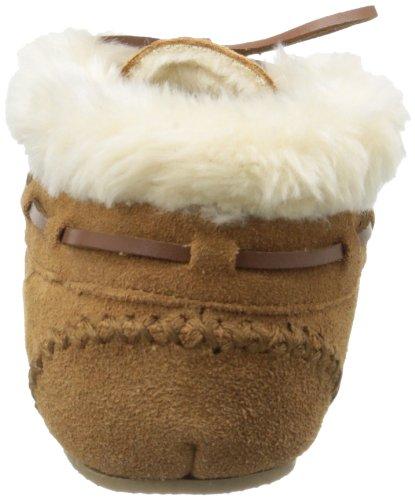 Minnetonka Chrissy,Pantofole Donna Beige (CinnamonCinnamon)