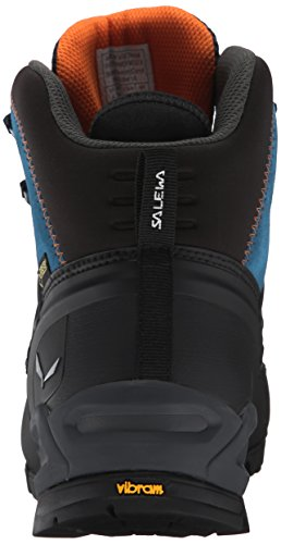 SALEWA - Alp Trainer Mid Gore-tex Bergschuh, Scarpe da Arrampicata Alta Donna Blu (Washed Denim/carrot 8619)