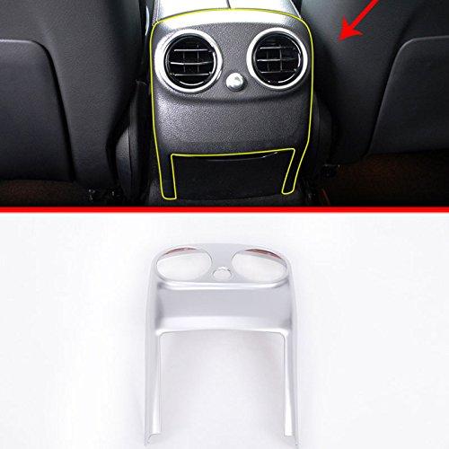Preisvergleich Produktbild Für W205C-klasse c180l c200l 20152017, Auto Zubehör ABS Chrom Hinten Klimaanlage Vent Cover Trim