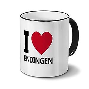 Städtetasse Endingen - Design I Love Endingen