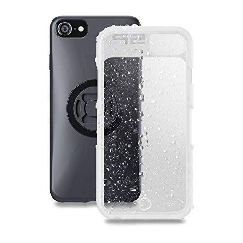 Smartphone Wetterschutzhülle SP Connect SP WEATHER COVER IPHONE 5/SE Durchsichtig, Schwarz (Weather Cover)