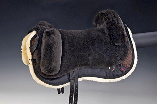Christ Lammfell Fellsattel BUTTERFLY Plus, braun, Pony
