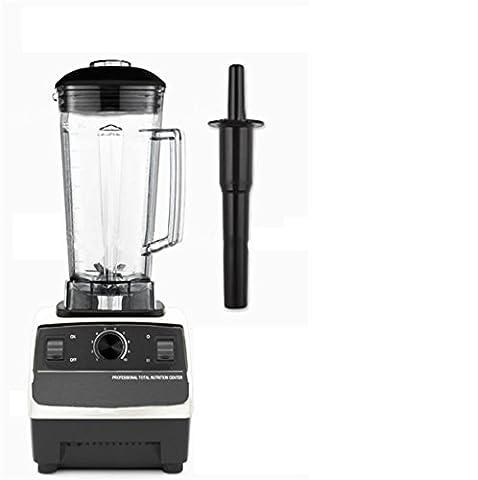 GELINGWEI 2200W Profi-Serie Blender & Living High-Speed-Food-Prozessor & Machinemulti-Funktion Mixer & Fleischwolf & Smoothie Maker & Ice Cream & Juicer & Grinder-White