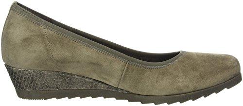 Gabor Shoes Comfort Sport, Scarpe con Tacco Donna Grigio (wallaby fango)