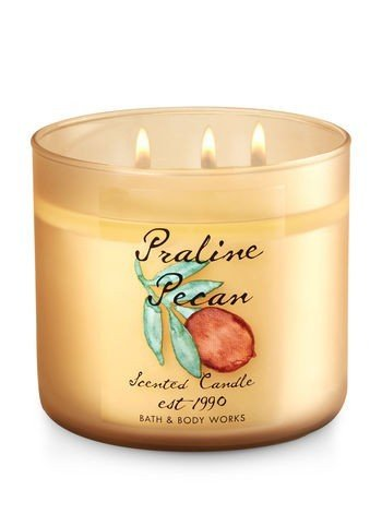Bougie 3 mèches Praline Pecan Bath and Body Works