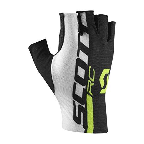 Scott Junior RC Kinder Fahrrad Handschuhe kurz schwarz/weiß/gelb 2017: Größe: XL (6)