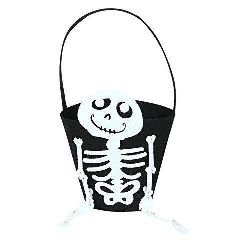 (OverDose Damen Baby-Mädchen-Jungen-Kürbis-Speicher-Halloween-Zusatz-Beutel-Einzelne Handtaschen-Taschen-Partei Cosplay wesentliches Geschenk)