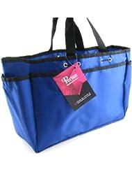 Periea - Organiseur de sac à main - Bertha (Bleu/Très Grand)