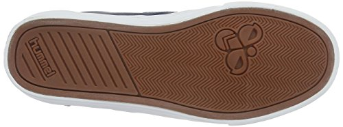 Hummel Slimmer Stadil Duo Oiled Low, Baskets Basses Mixte Adulte Bleu (Total Eclipse)