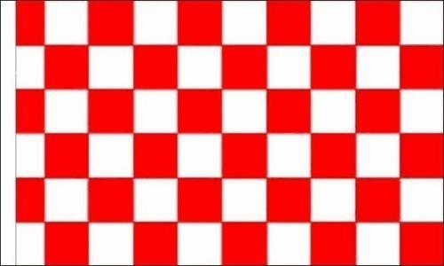 """& bianco rosso, motivo: bandiera a scacchi a maniche lunghe per barche, 70 cm x 45 cm x 45,72 cm (18"""") 68,58 cm (27"""") Button Badge, 150 mm"""