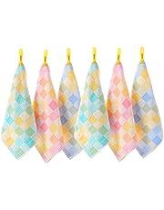 Uber World Handkerchiefs for Kids, 28 X 28 cm (Multicolour) - Pack of 6