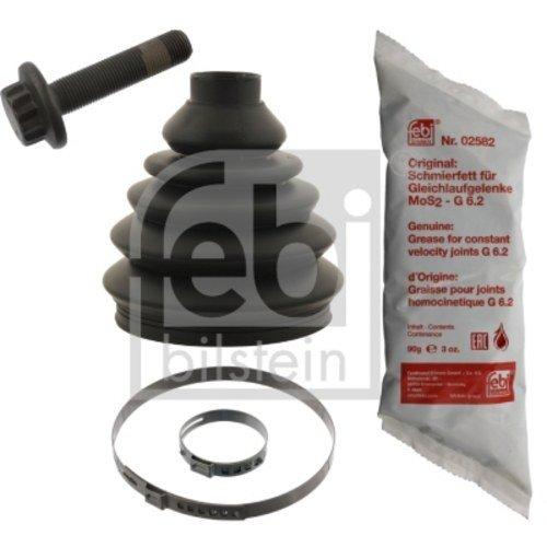 febi bilstein 49070 Achsmanschettensatz mit Anbaumaterial (Vorderachse, radseitig) Faltenbalg Antriebswelle