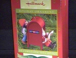 CPC2000 Canadian Post Colorway Repaint of Santa's Mail 1997 Hallmark club ornament 2000 by Hallmark