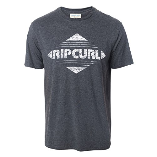 Rip Curl Big Mama Diamond Kurzärmliges Shirt Herren XL Dark Marle (Snow Curl Rip)