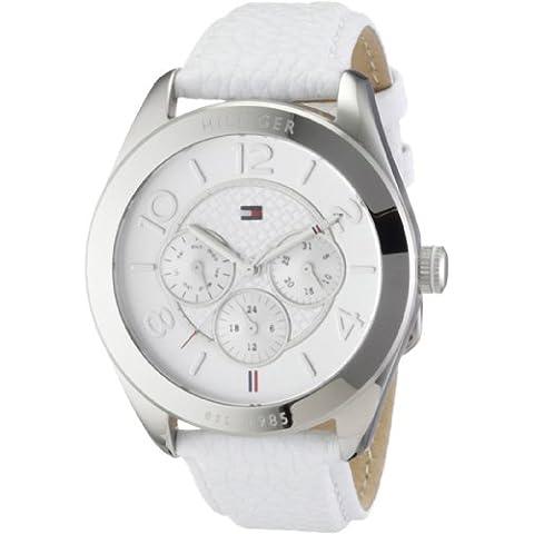 Tommy Hilfiger Watches Gracie 1781202 - Reloj analógico de cuarzo para mujer, correa de cuero color
