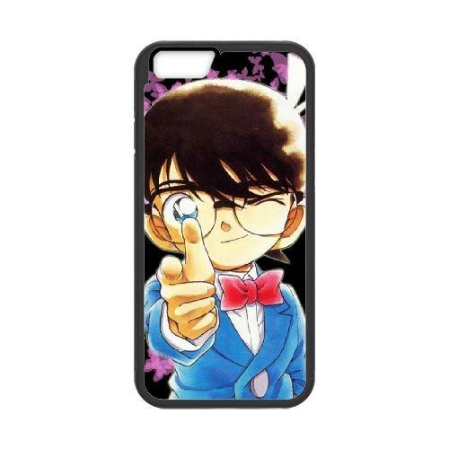 Detective Conan coque iPhone 6 4.7 Inch Housse téléphone Noir de couverture de cas coque EBDXJKNBO09960
