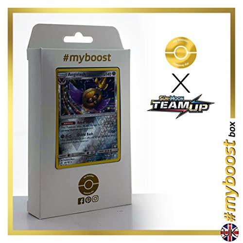 Aegislash (Durengard) 109/181 Wendbare Holo #myboost X Sun & Moon 9 Team Up - Box mit 10 Englische Pokémon-karten