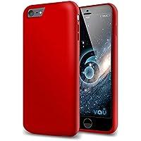 vau Snap Case Slider - matte red - zweigeteiltes Hard-Case für Apple iPhone 6