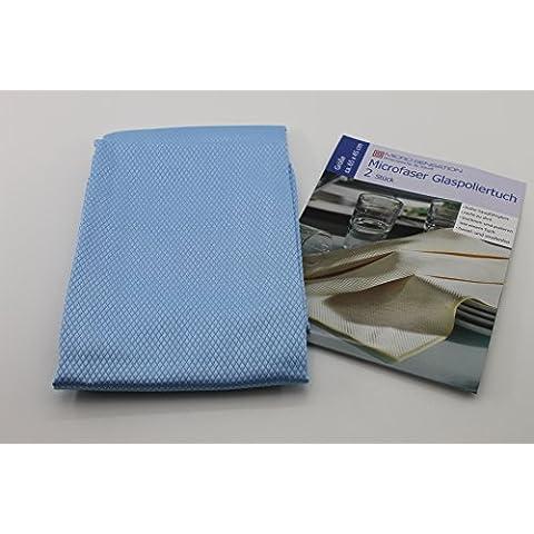 Micro Sensation ventana paños Premium 2er azules