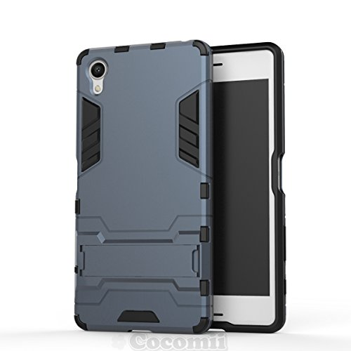 Sony Xperia X Performance Hülle, Cocomii Iron Man Armor NEW [Heavy Duty] Premium Tactical Grip Kickstand Shockproof Hard Bumper Shell [Military Defender] Full Body Dual Layer Rugged Cover Case Schutzhülle F8131 F8132 (Black)