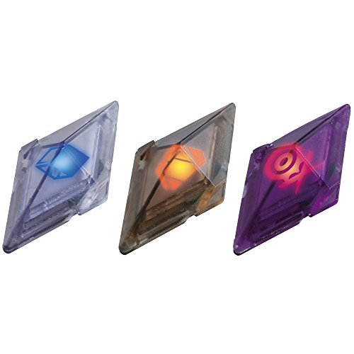 Bizak Pokémon - Pack de 3 Cristales Z-Ring, Fantasma/Insecto/Diablo 30699210